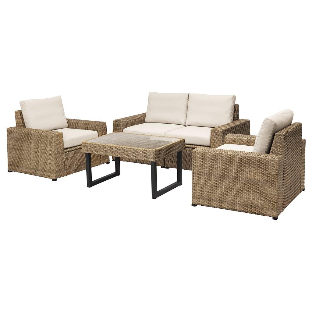 Sollerön 4-Seat Conversation Set
