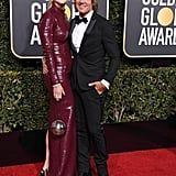 The duo posed for a glamorous photo at the 2019 Golden Globe Awards.