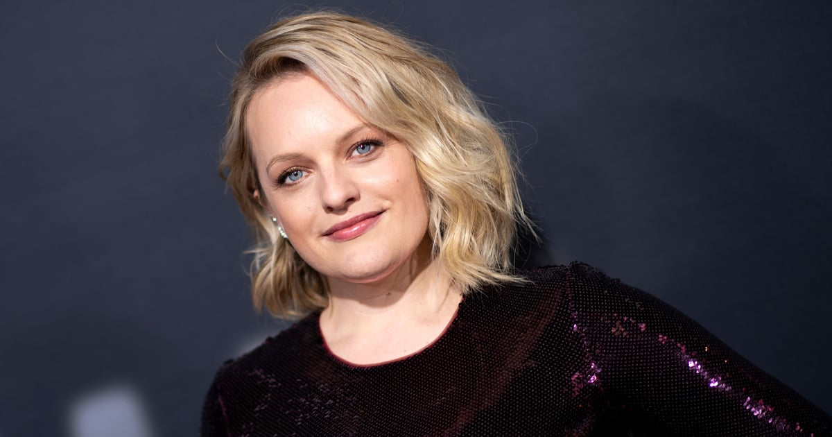 Elisabeth Moss Goes Back to Brunette With a '90s Cut and Color Inspired by Winona Ryder