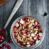 Pomegranate Almond Overnight Oatmeal