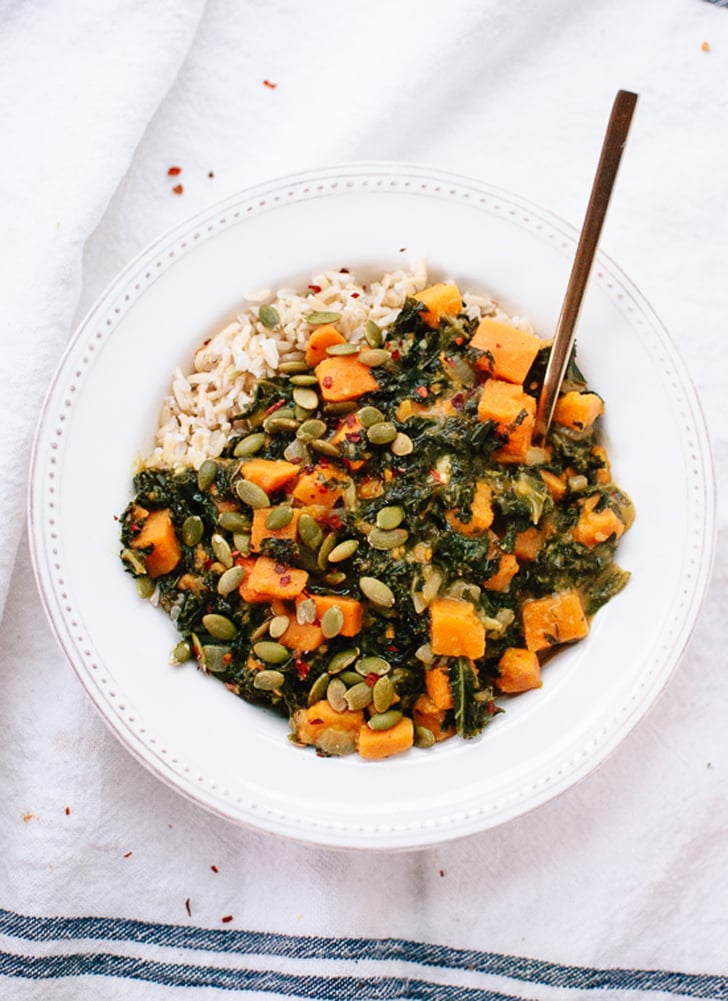 Coconut Curried Kale and Sweet Potato