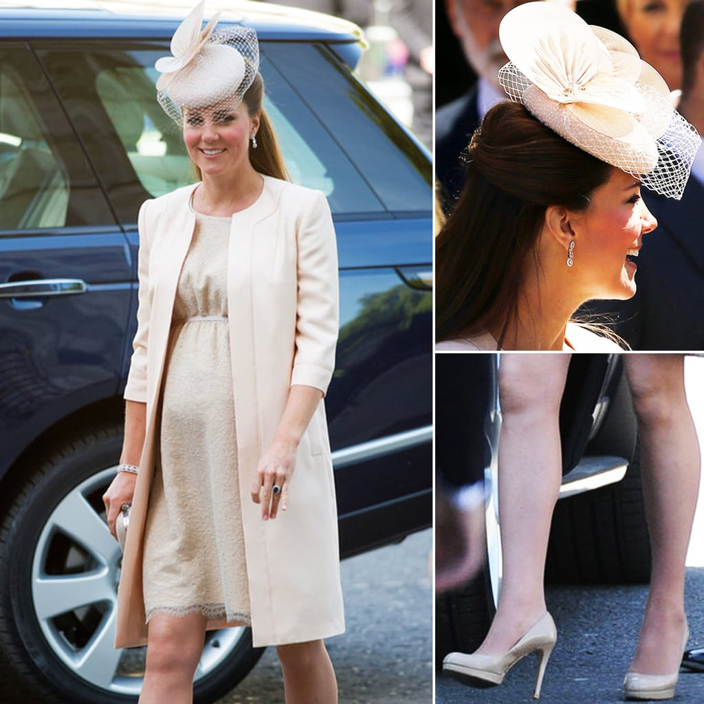 Kate Middleton Wears Jenny Packham To The Queen's Coronation