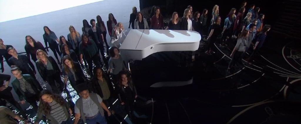 Lady Gaga's Moving Oscars Performance Gave a Voice to Rape Survivors Everywhere