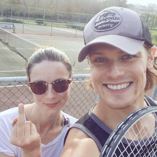 Sam Heughan and Caitriona Balfe's Cutest Pictures