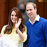 When Kate and William Showed Off Charlotte For the First Time