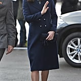 Kate Middleton out in London January 2018