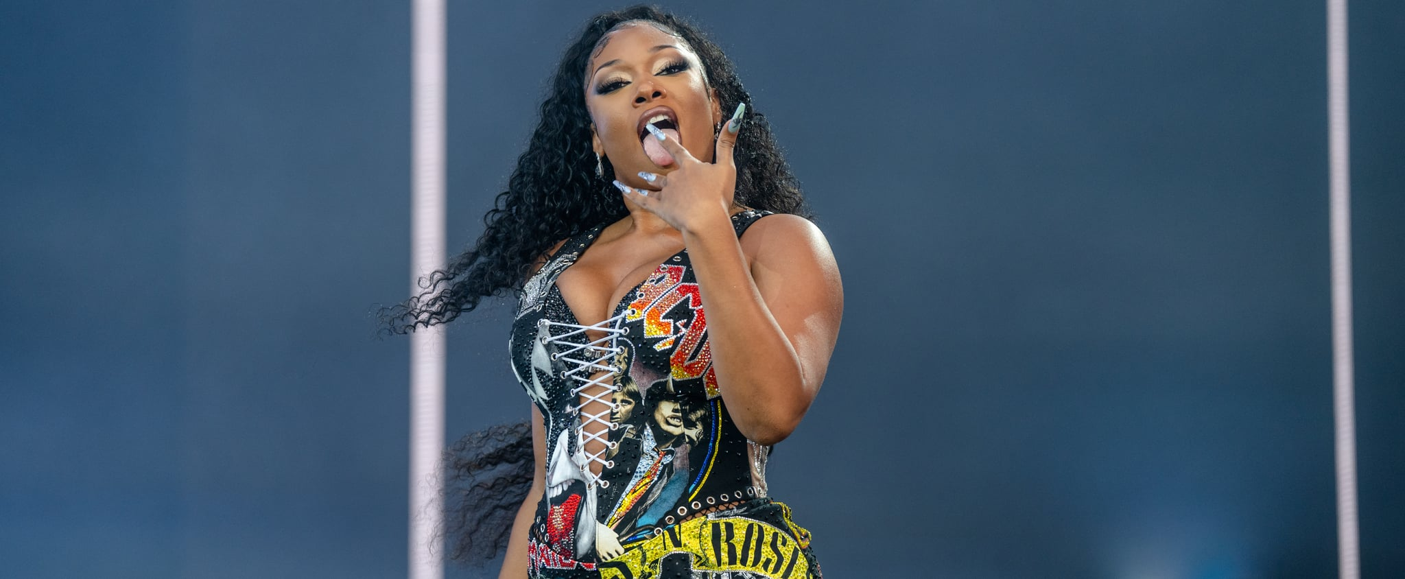See Photos From Megan Thee Stallion's Sexy Lollapalooza Set