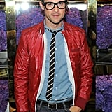 Brad Goreski at the opening of Tory Burch's new flagship store.