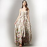 """>> Keep the look romantic with light, feminine accessories in nude and blush. Nanette Lepore Daphne Floral Maxi Dress, $598 Looks chic with: <iframe src=""""http://widget.shopstyle.com/widget?pid=uid5121-1693761-41&look=3352927&width=3&height=3&layouttype=0&border=0&footer=0"""" frameborder=""""0"""" height=""""244"""" scrolling=""""no"""" width=""""286""""></iframe>"""