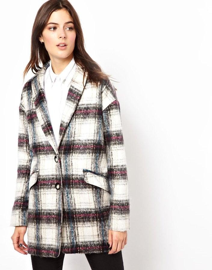 ASOS Checked Coat