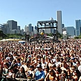 This snapshot from 2007 proves Lollapalooza has one of the best festival venues around. Just look at that city!