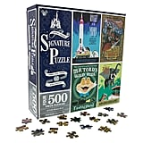Disneyland Attraction Poster Jigsaw Puzzle Set