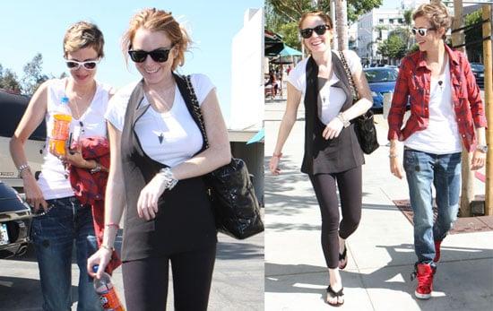 Lindsay Lohan Thinks Michael Phelps is Amazing