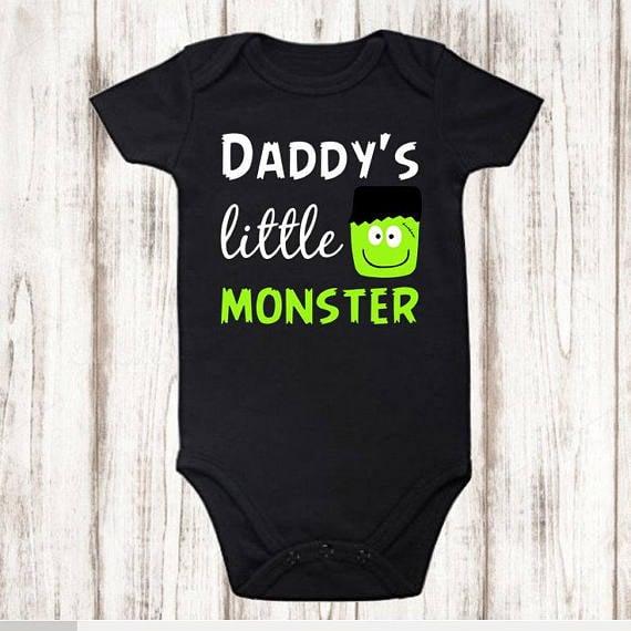 Daddy's Little Monster Onesie