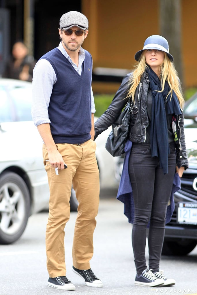 Blake Lively and Ryan Reynolds traveled to Vancouver.