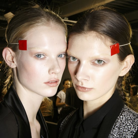 Hair and Makeup at Givenchy Fall 2014 Paris Fashion Week
