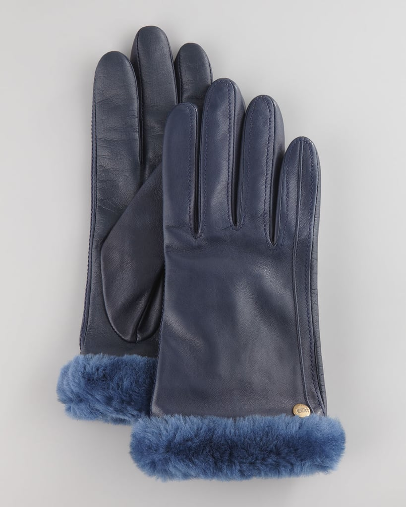 While the classic Ugg boot might be a polarizing piece of fashion, there can be no debate about the Australian brand's other cold-weather gear, like these Fur Trim Leather Smart Gloves ($125). They're made from ultrasoft shearling, and the insides are lined with buttery cashmere. But the conductive thread in the thumb and pointer fingers that allows you to use touchscreen devices and keep your hands warm? That's just genius. — JF