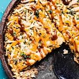 BBQ Chicken Zoodle Casserole