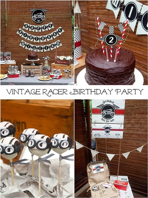 A Vintage Racer Party