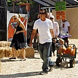 Gwen, Gavin and Kingston Head to the Pumpkin Patch