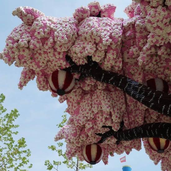 Lego Cherry Blossom Tree at Legoland Japan