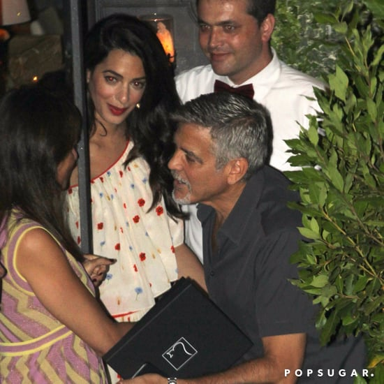 George and Amal Clooney Out in Italy July 2017