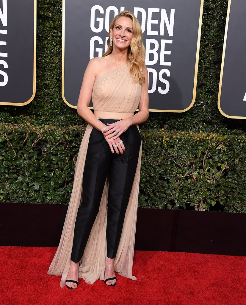 Julia Roberts reminded us that pants can be just as chic as gowns when she wore this Stella McCartney outfit.