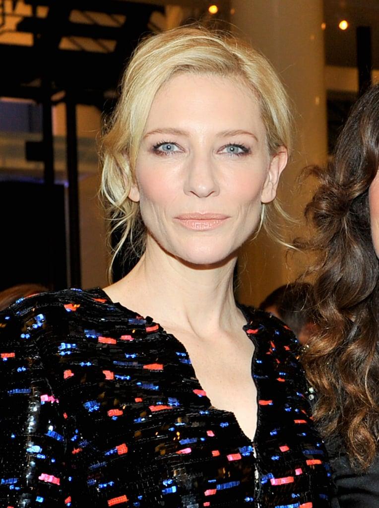Cate Blanchett at the Giorgio Armani Oscars Party