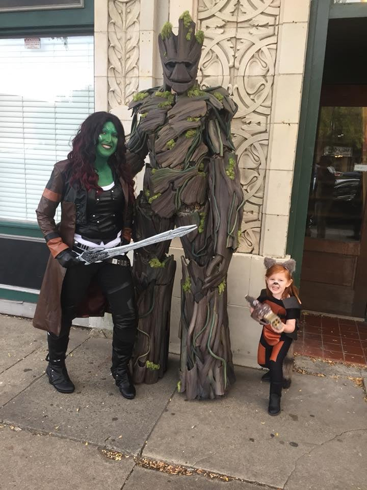 Diy Groot Guardians Of The Galaxy Costume Popsugar Family