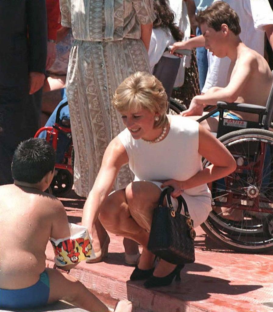 Princess Diana Carrying Her Lady Dior Bag