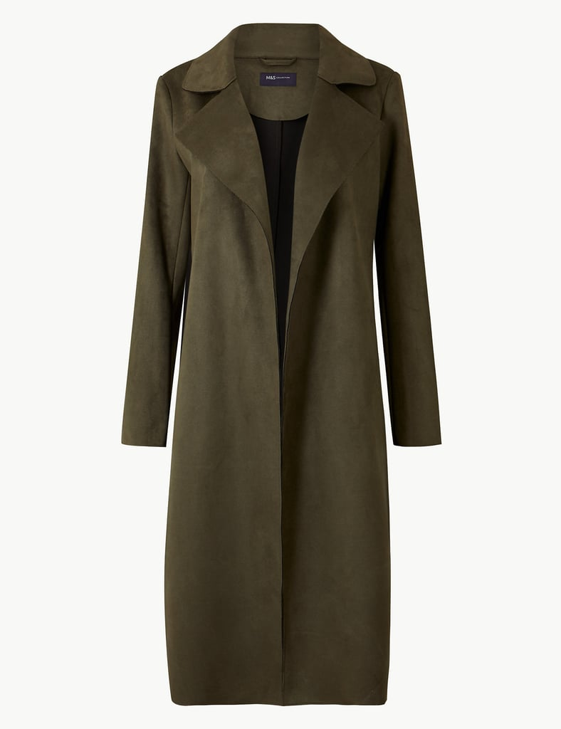 M&S Open Front Longline Coat