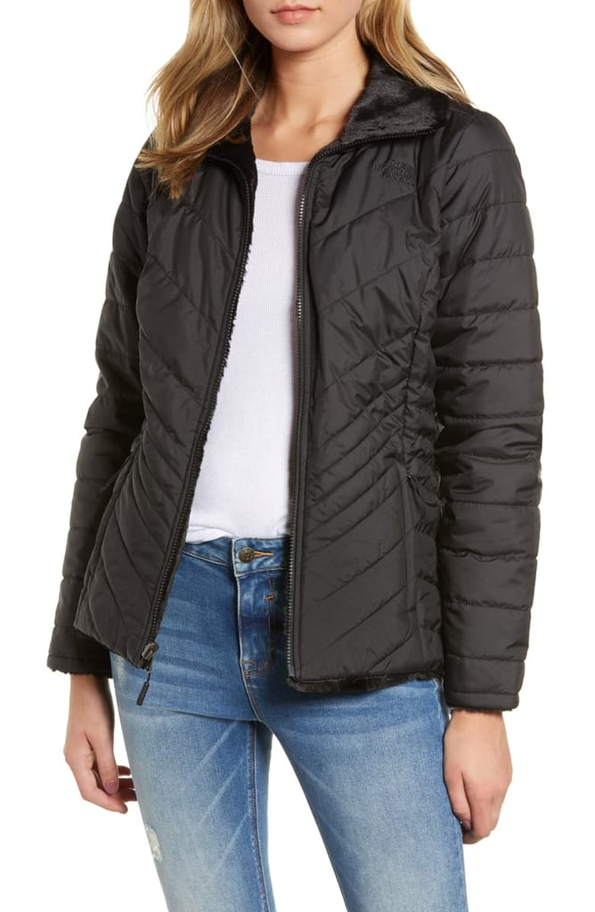 The North Face Mossbud Reversible Heatseeker Wind Resistant Jacket