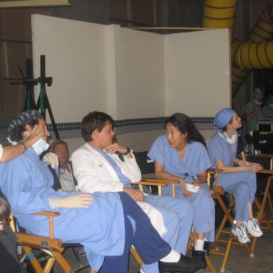 Behind-the-Scenes Photos From Grey's Anatomy Pilot Episode