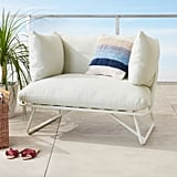 Pool Party White Outdoor Lounge Chair