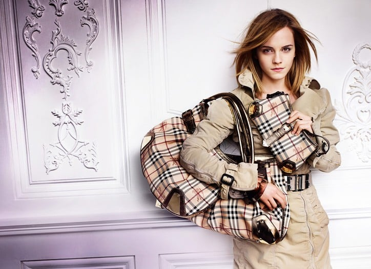 Fab Ad: More Emma Watson for Burberry, Spring 2010