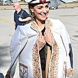 Kate Middleton Wearing Traditional Chitrali Hat in Pakistan