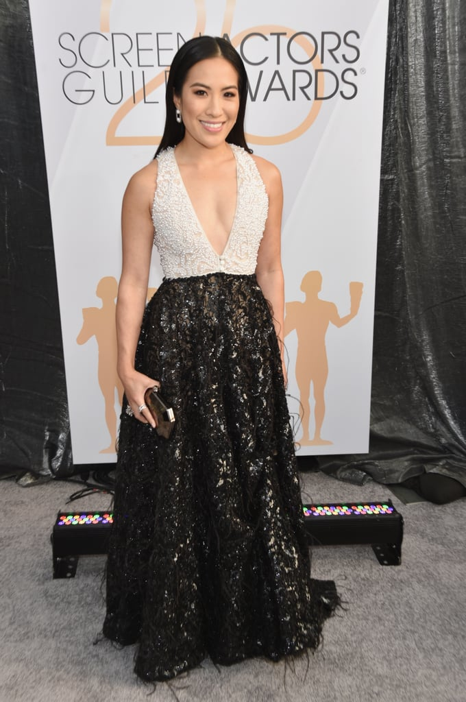 Melissa Tang at the 2019 SAG Awards