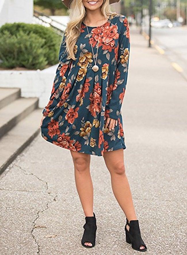 Zesica Floral Dress