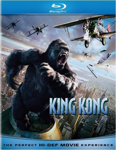 King Kong (PG-13, Not Rated)