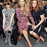 Blake and Robyn Lively at New York Fashion Week