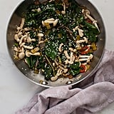 Swiss Chard and Mushroom Stir-Fry