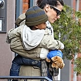 Sandra and Louis Bullock Have a Fun City Weekend Together