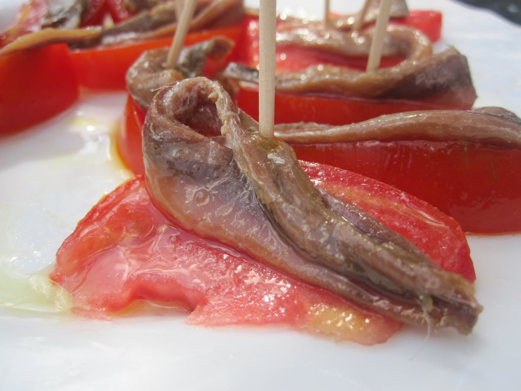 Tomatoes With Anchovies