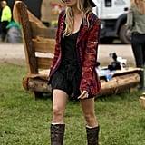 Sienna Miller at Glastonbury 2013