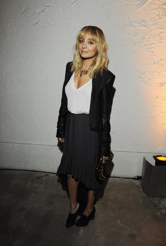 The Maternity Style of Nicole Richie