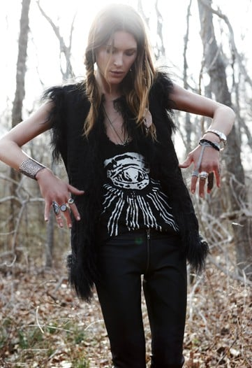 A First Look at Erin Wasson's Collaboration with Zadig & Voltaire