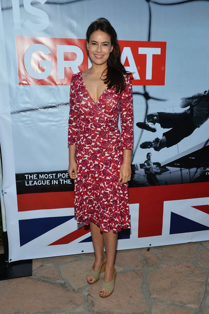 Sophie Winkleman at the British Consulate Olympics Opening Ceremonies Reception in July 2012