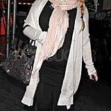 Jessica Simpson with her baby bump in NYC.