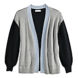 POPSUGAR Balloon Sleeve Cardigan
