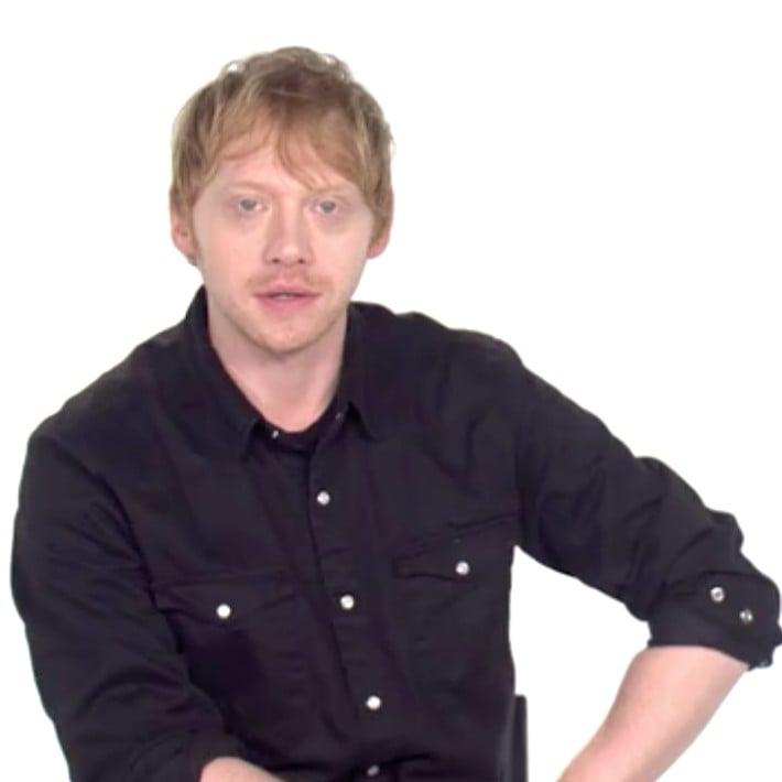 Rupert Grint Reading Ed Sheeran's